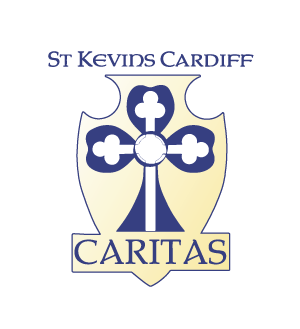 St Kevin's Cardiff Crest